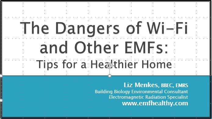 The Dangers of Wi-Fi and Other EMFs